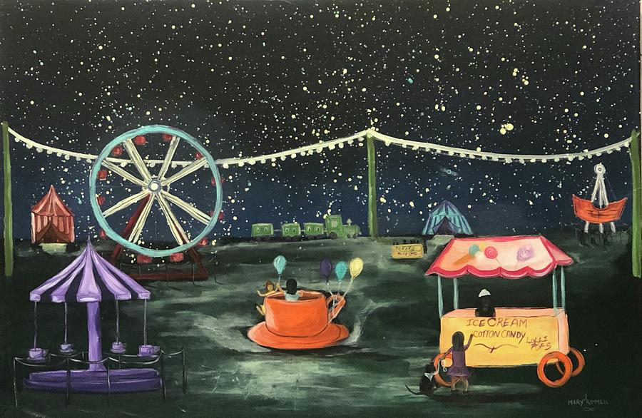 Fair ground fun by Mary Rimmell