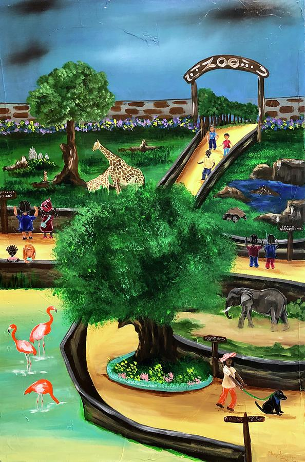 Visiting the Zoo by Mary Rimmell