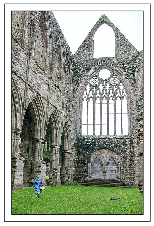 Visiting Tintern Abbey by Peggy Dietz