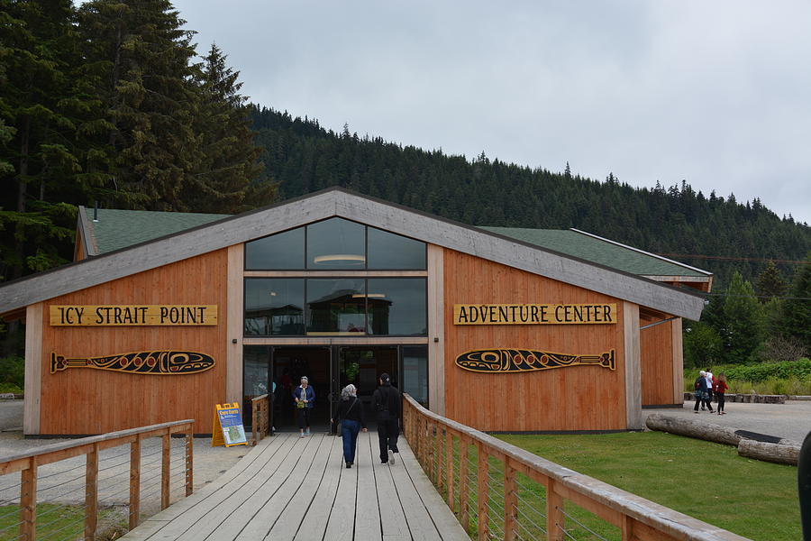 Visitor Center at Icy Strait Point by Joe Smiga