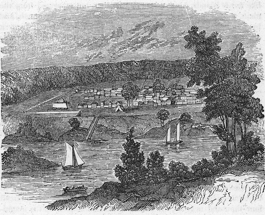 Vista Of Colonial Savannah, Georgia Photograph by Kean Collection
