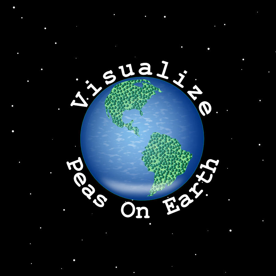 Visualize Peas On Earth by Kent Lorentzen