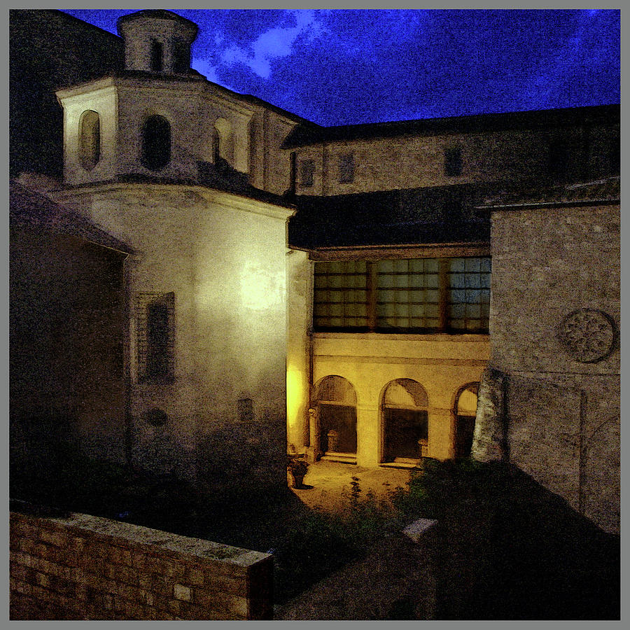 Viterbo- The Pope's Residence by Guy Ciarcia