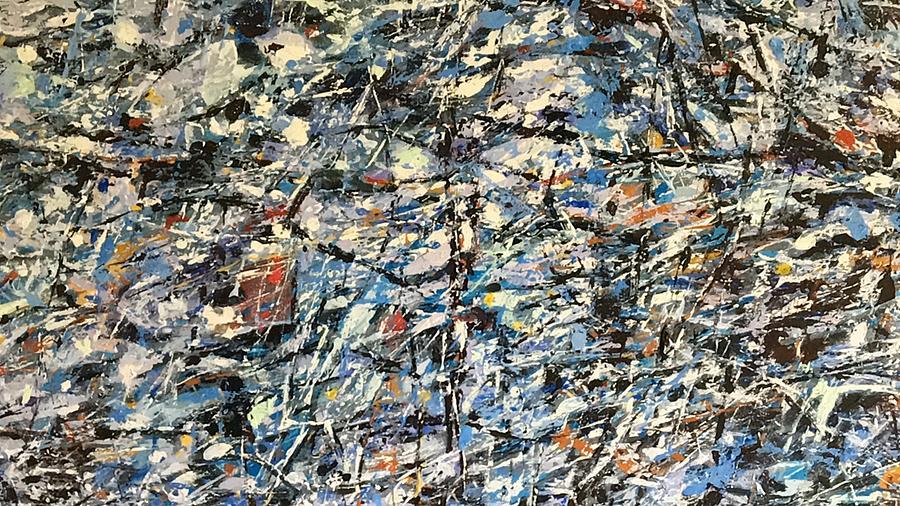 Landscape Painting - Vivaldi Winter Detail - 5 by Vladimir Vlahovic
