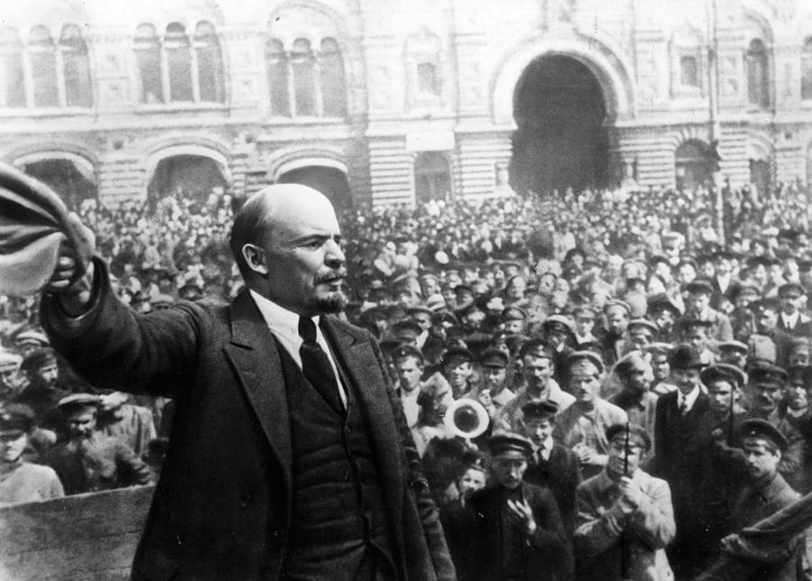 Vladimir Ilyich Lenin Photograph by Keystone