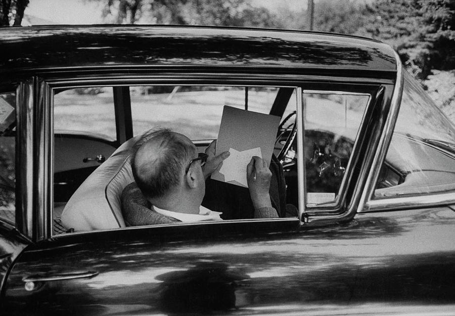 Vladimir Nabokov Photograph by Carl Mydans