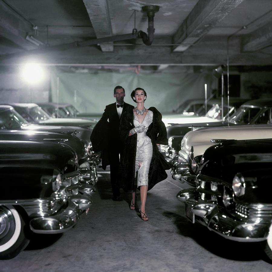 Vogue 1952 Photograph by John Rawlings