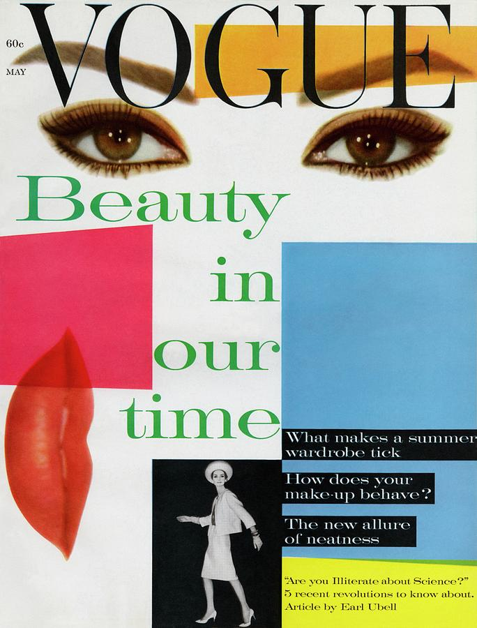 Vogue Magazine May 01, 1961 Cover Photograph by Vogue Staff