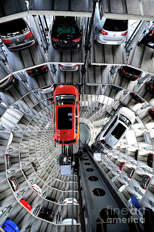 Volkswagen To Announce Annual Results Photograph by Alexander Koerner