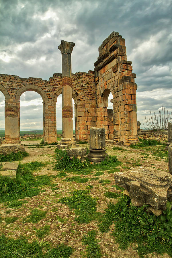 Volubilis Arches by Lindley Johnson