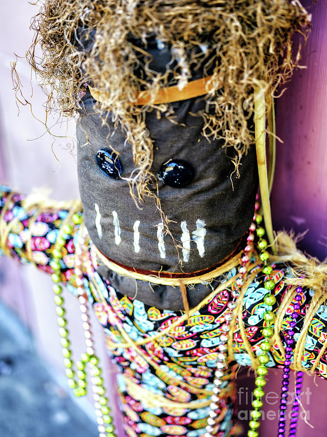 Voodoo Doll in the French Quarter New Orleans by John Rizzuto