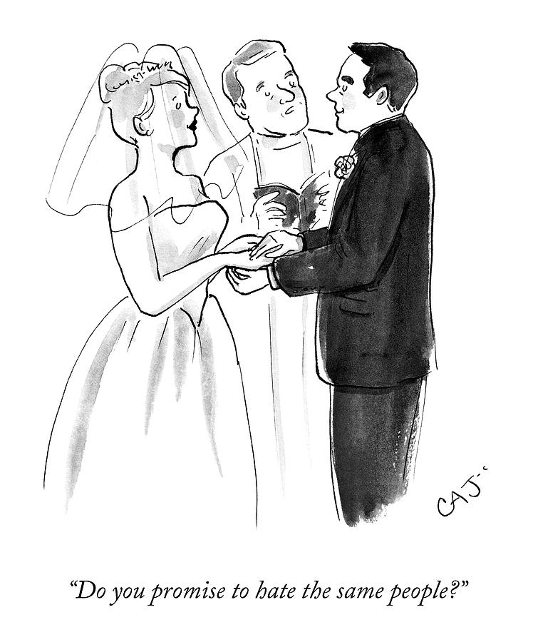 Vows Drawing by Carolita Johnson
