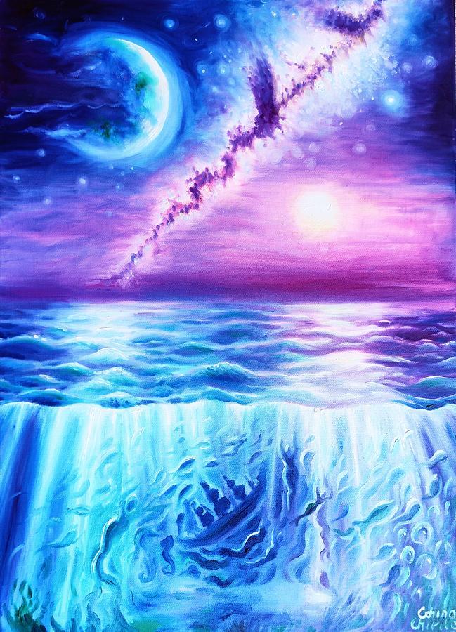 Sea Painting - Vox Maris by Chirila Corina
