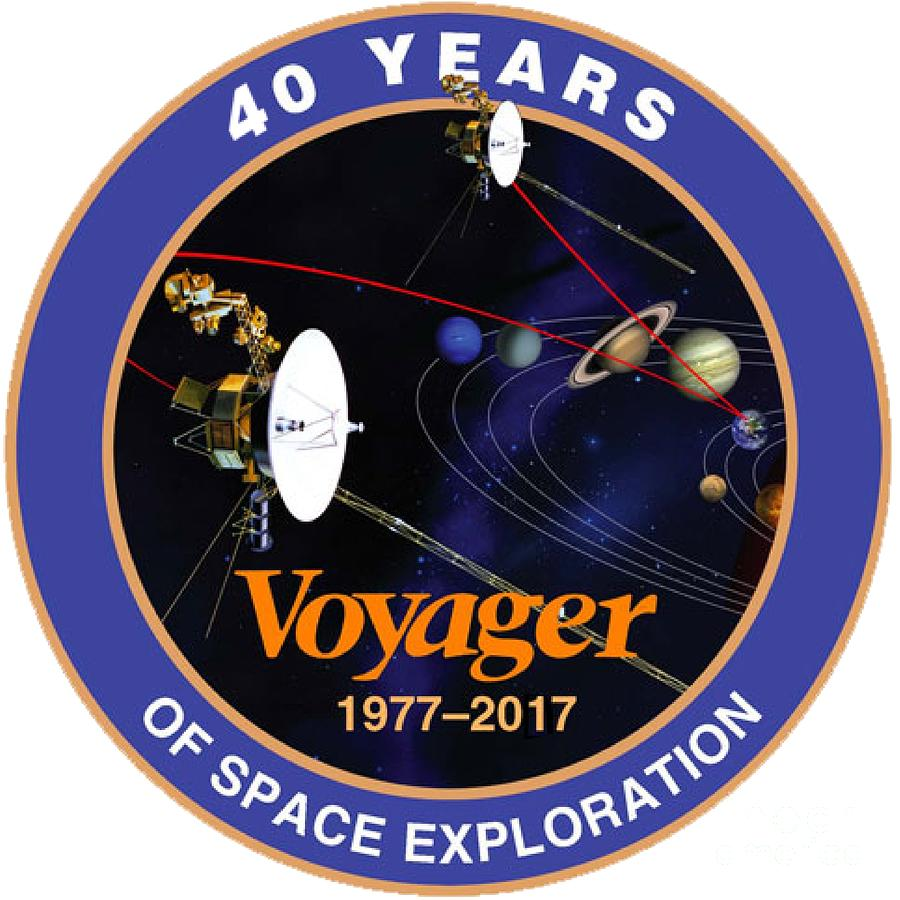 ffb7a1fe4ded Voyager 40 Years Of Space Exploration Digital Art by Nikki