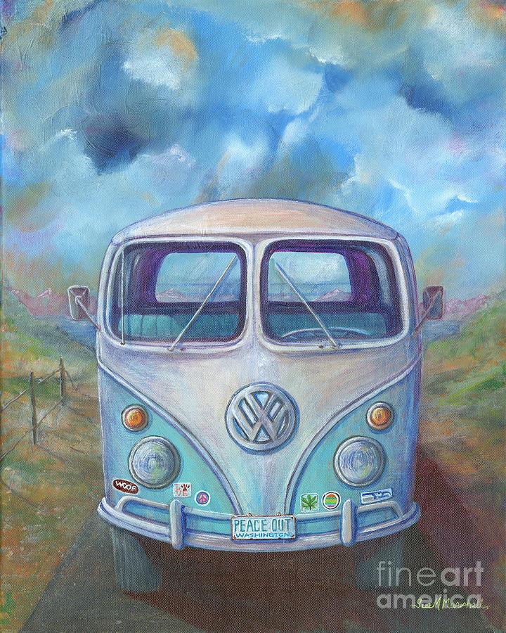 VW Charm by Sue M Marshall