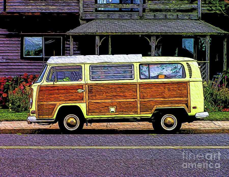 VW Woody Bus by Nick Zelinsky