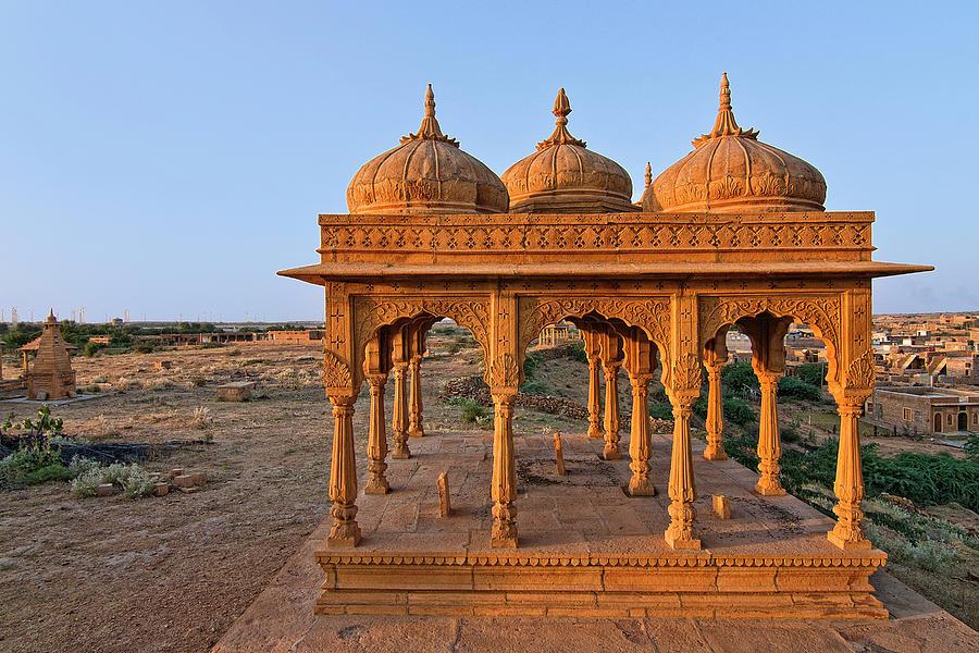 Vyas Chhatri, Cenotaph, Jaisalmer Photograph by Beyondmylens@harsh / Photography