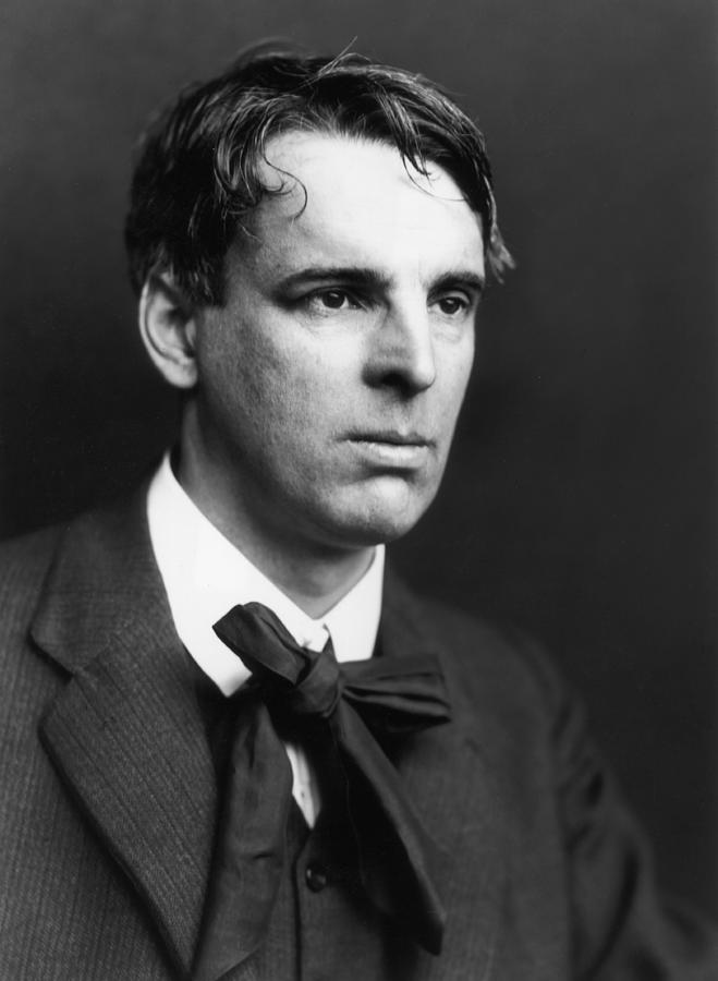 W B Yeats Photograph by George C. Beresford