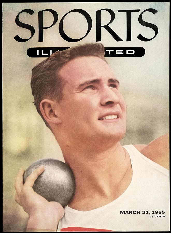 W. Parry Obrien, Track & Field Sports Illustrated Cover Photograph by Sports Illustrated