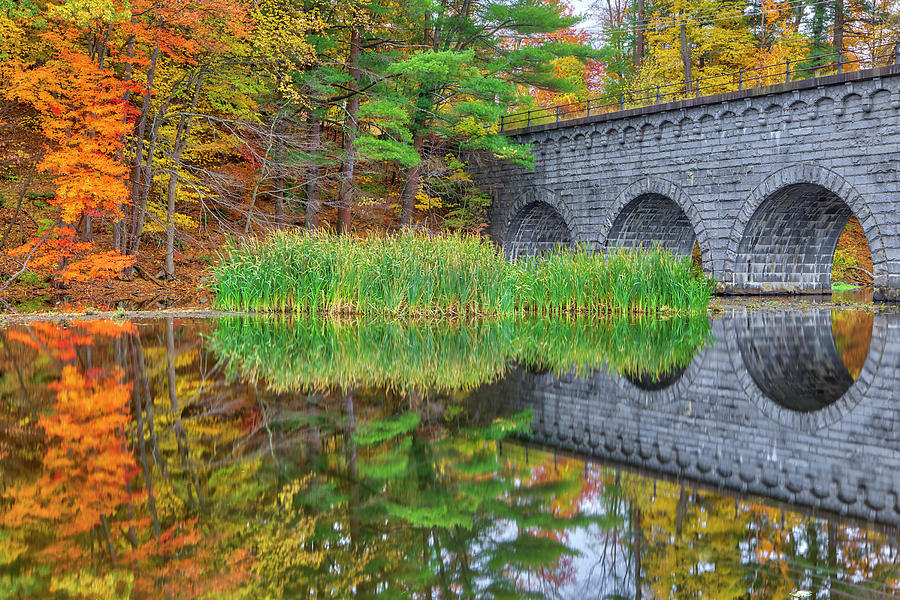 Wachusett Aqueduct by Juergen Roth