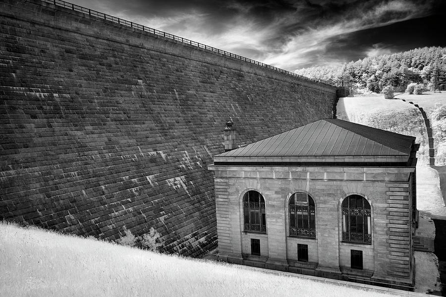 Wachusett Dam Geometric Lines by Luke Moore