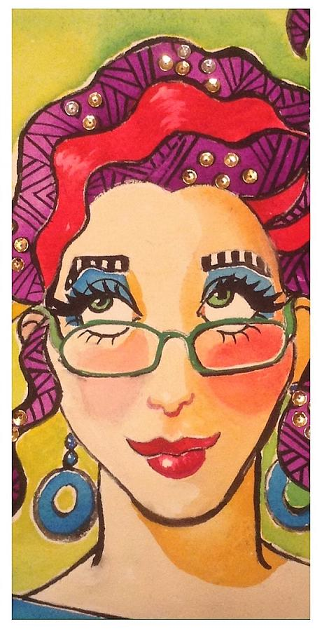 Wacky Lady 1 by Marilyn Jacobson