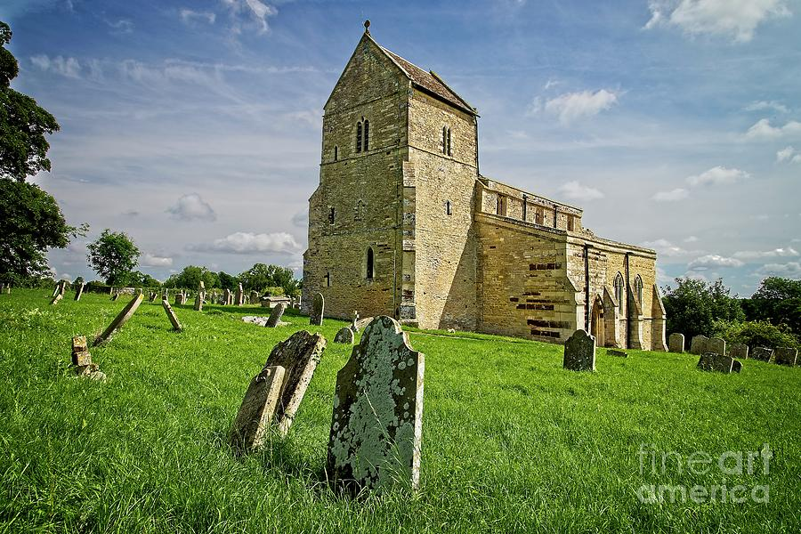 Wadenhoe Church Northamptonshire by Martyn Arnold