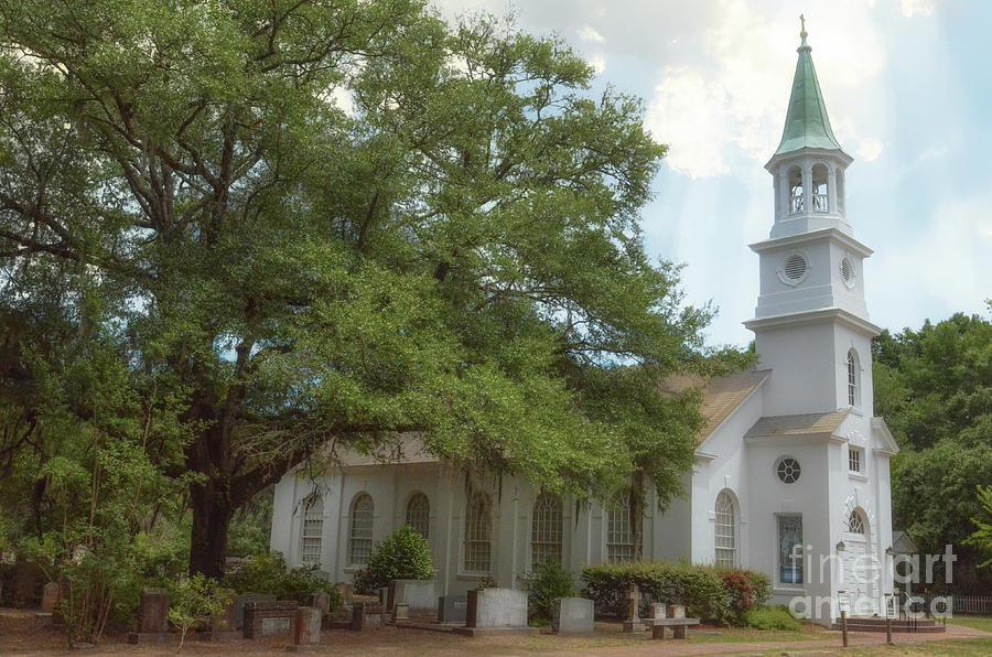 Wadmalaw Church - St. John's Parish by Dale Powell