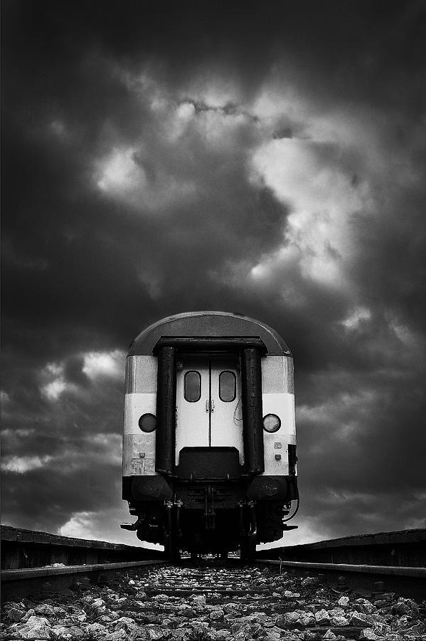 Train Photograph - Wagon by Mladjan Pajkic - Limbonic