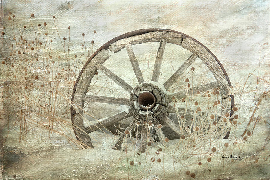 Wagon Wheel by Ramona Murdock