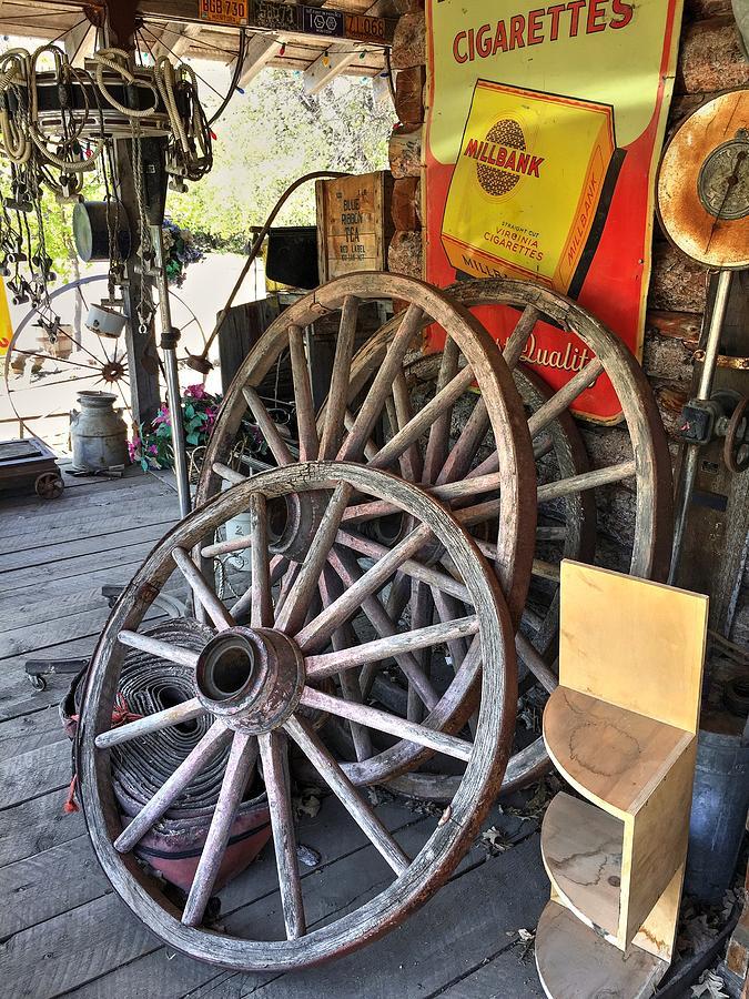 Wagon Wheels by David Matthews