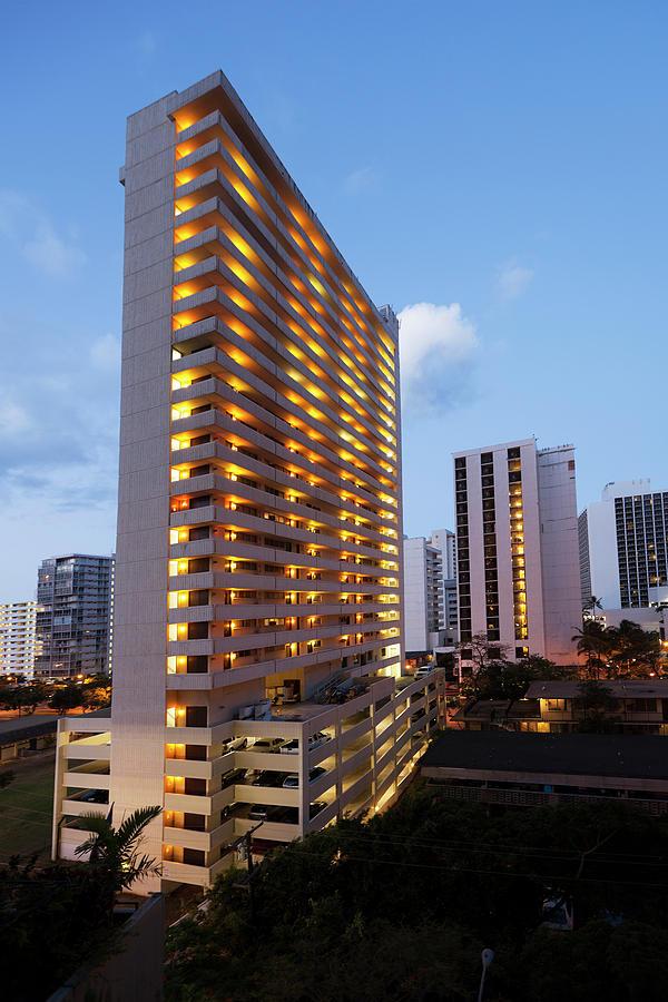 Waikiki Morning Photograph by Slobo