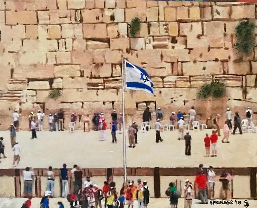 Wailing Wall by Gary Springer