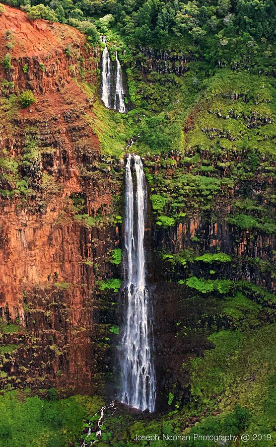Waipo o Falls by Joseph Noonan
