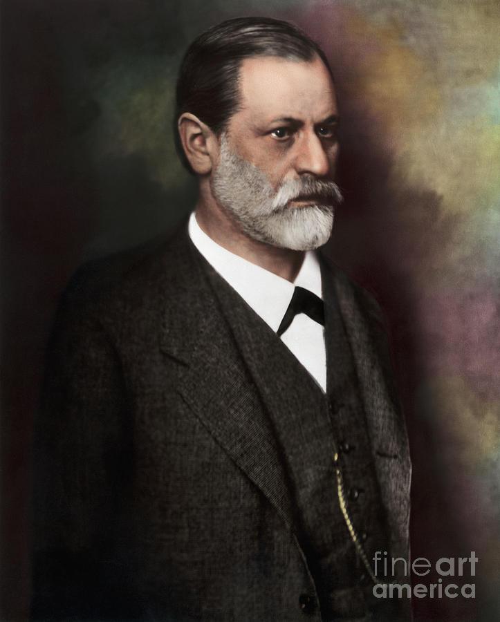 Waist-up Photo Of Sigmund Freud Photograph by Bettmann