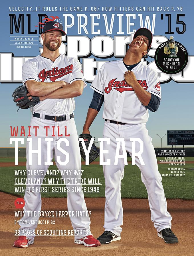 Wait Till This Year 2015 Mlb Baseball Preview Issue Sports Illustrated Cover Photograph by Sports Illustrated