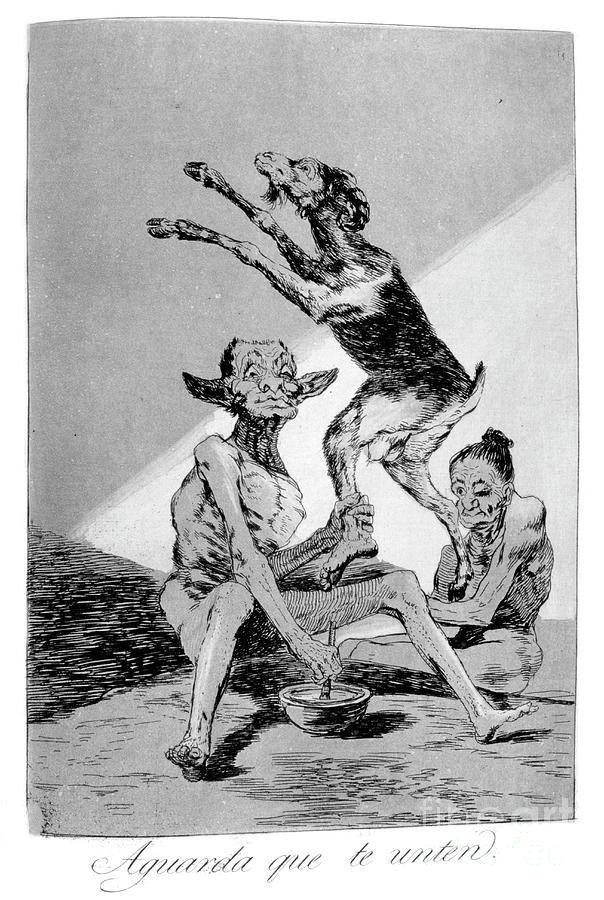 Wait Till Youve Been Anointed, 1799 Drawing by Print Collector