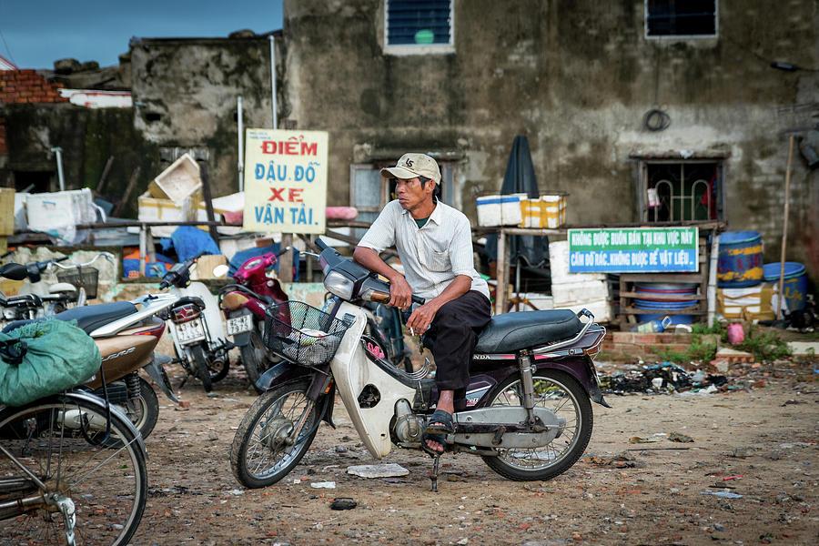 Hoi An Photograph - Waiting At The Fish Market, Hoi An, Vietnam by Ian Robert Knight