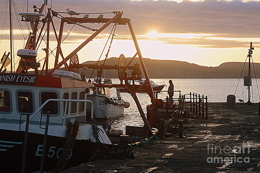 Boat Photograph - Waiting For The Boat by Andy Thompson