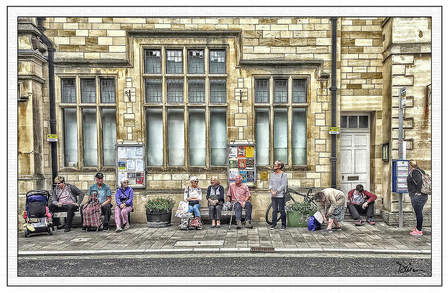 Waiting For The Next Bus by Peggy Dietz