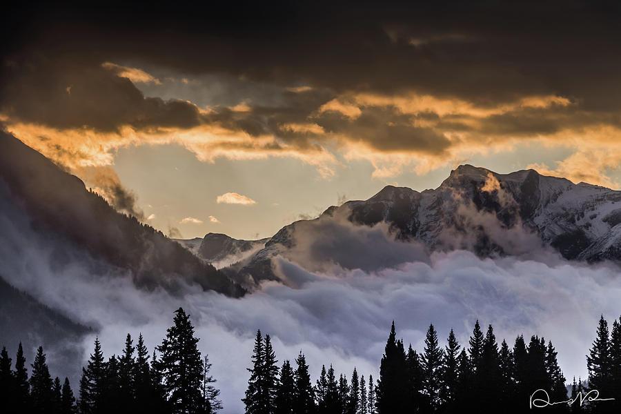 Clouds Photograph - Waiting On The Sun by Dennis Dempsie