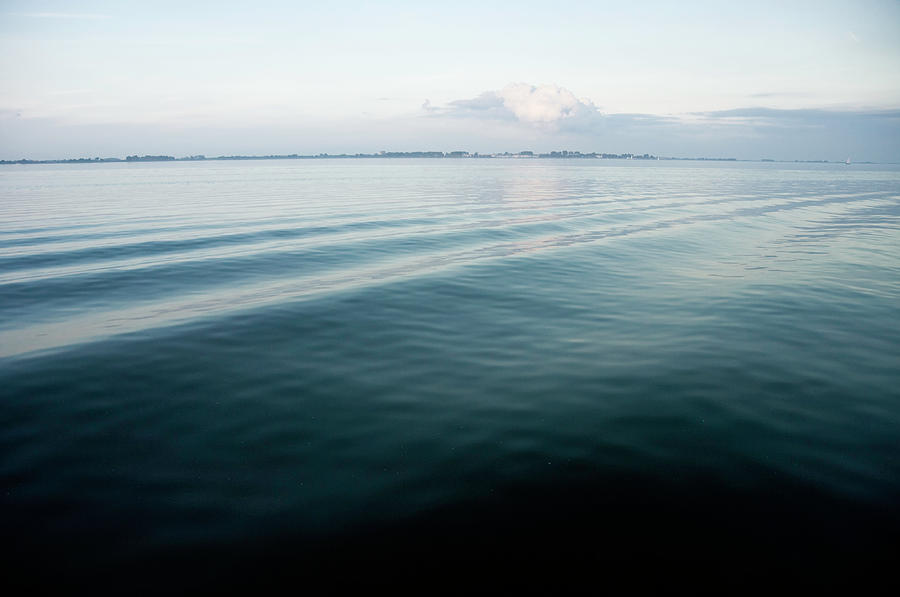 Wake Photograph by Digiclicks