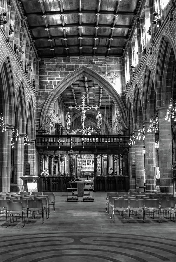 Wakefield Cathedral Monochrome by Jeff Townsend