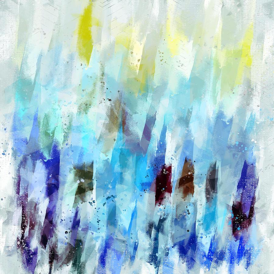 Dawn Digital Art - Waking At Dawn - Abstract by Western Exposure