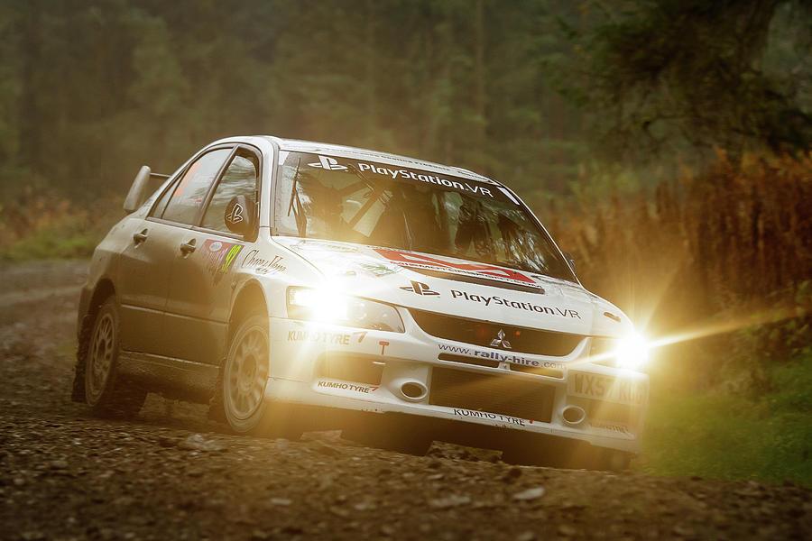 Wales Rally Gb 2016 - 92 Tony Jardine, Gbr Photograph