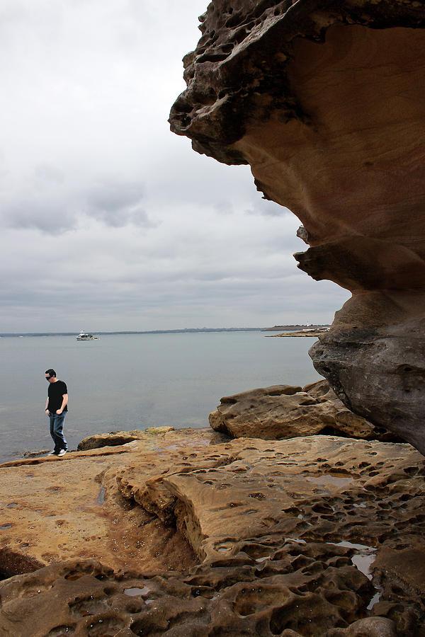 Walk Along Botany Bay by Miroslava Jurcik