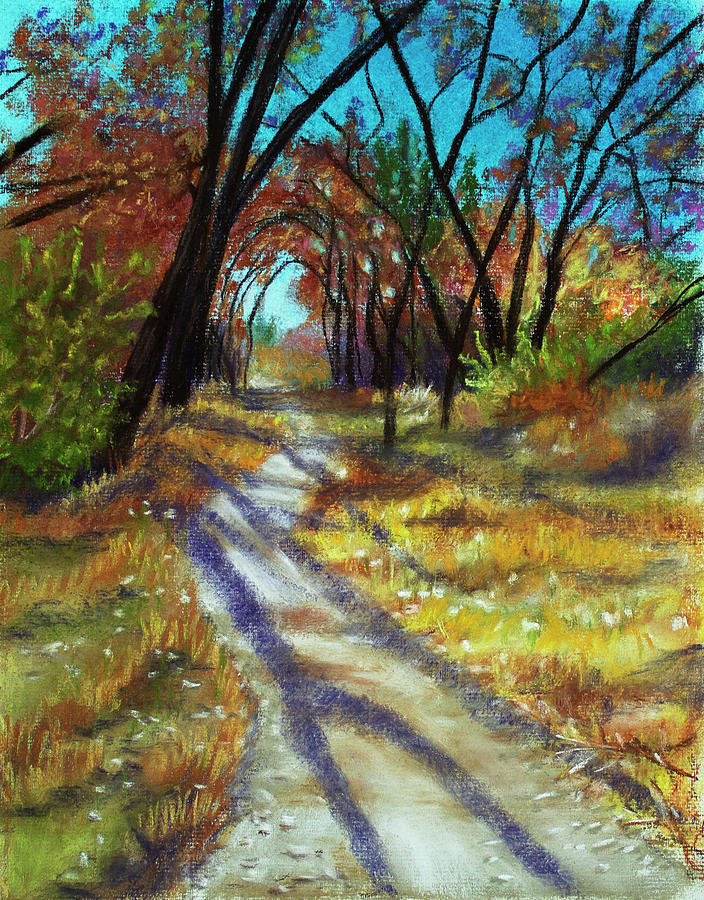 Path Painting - Walk This Way by Dorothy Riley