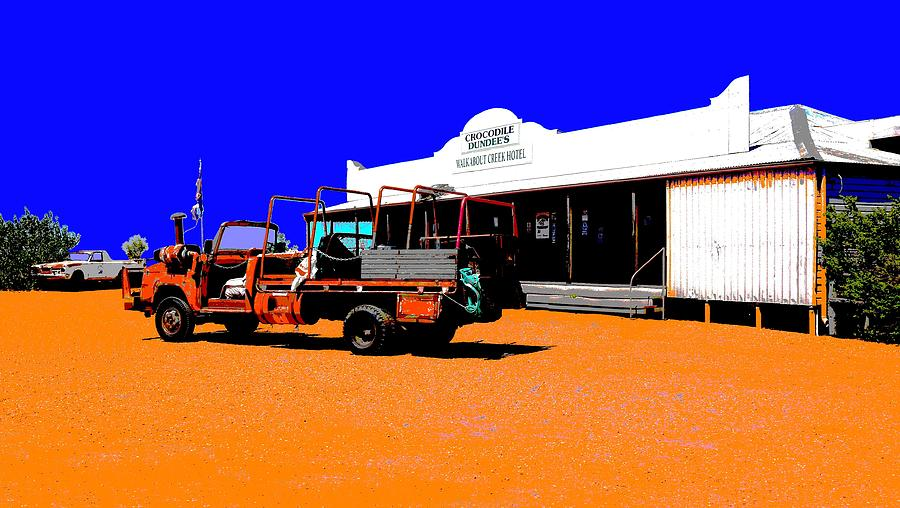 Walkabout Creek Hotel - Outback  by Lexa Harpell