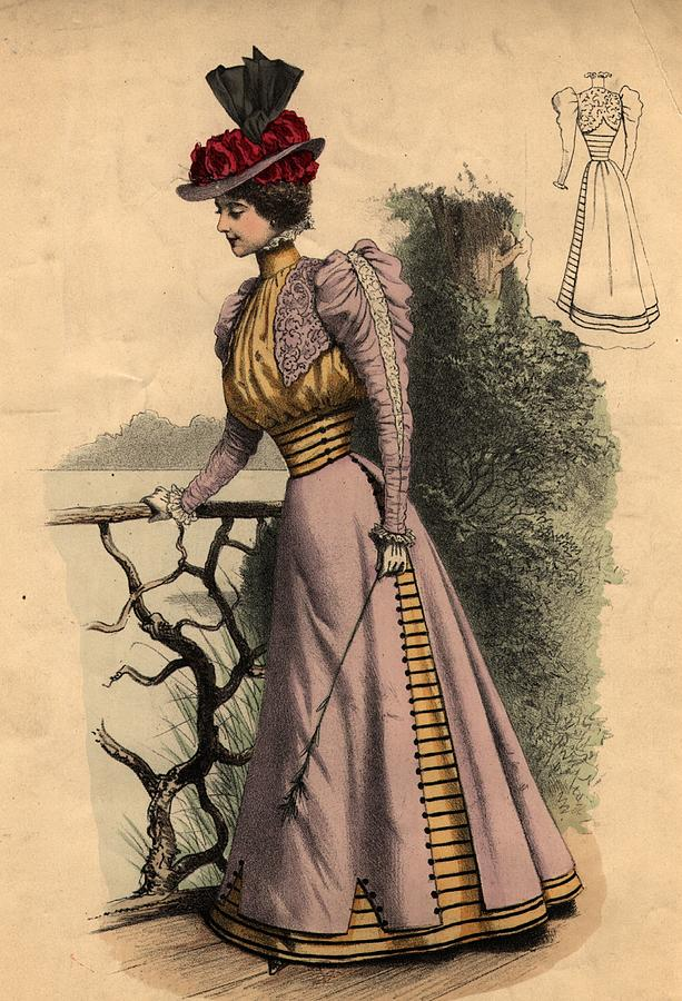 Walking Dress Photograph by Edward Gooch Collection
