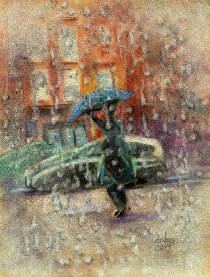 Walking in the Rain by Dorothy Riley